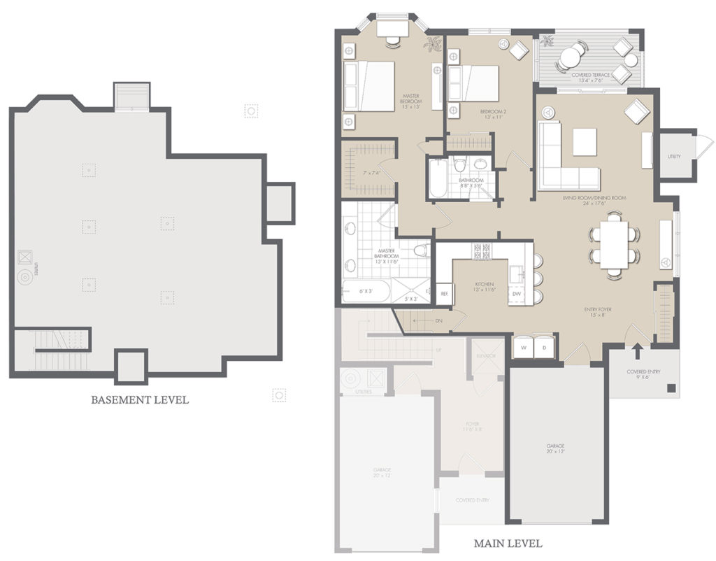 Group Home Floor Plans Plan B 1 Bedroom 1 Bath 645 Sq Ft